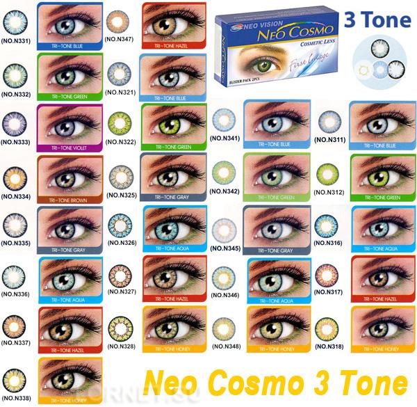 Контактные линзы Neo Cosmo Tri-Tone